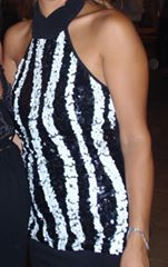 תמונות נוספות של שמלת ערב מיני קולר