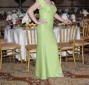 תמונות נוספות של שמלת מחוך טורקיז נלבשה פעם אחת