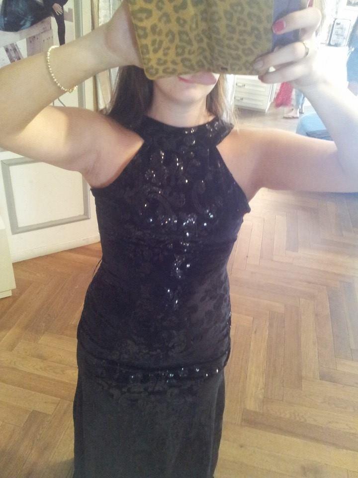 תמונות נוספות של שמלת מקסי שחורה עם גב פתוח של שלומי דדון-המחמאות מובטחות!!