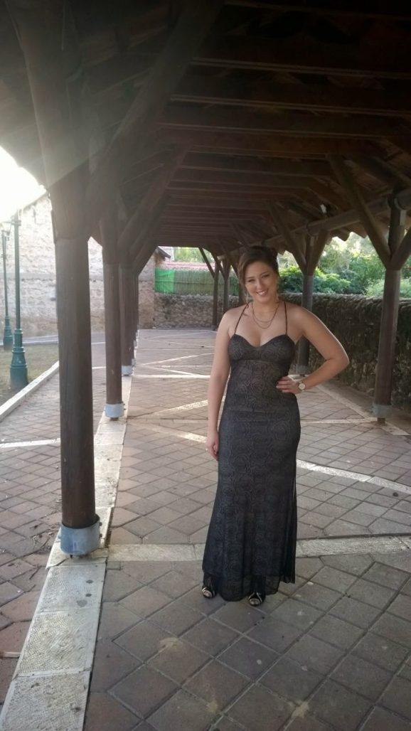 תמונות נוספות של שמלת ערב מהממת עם גב פתוח ושסע