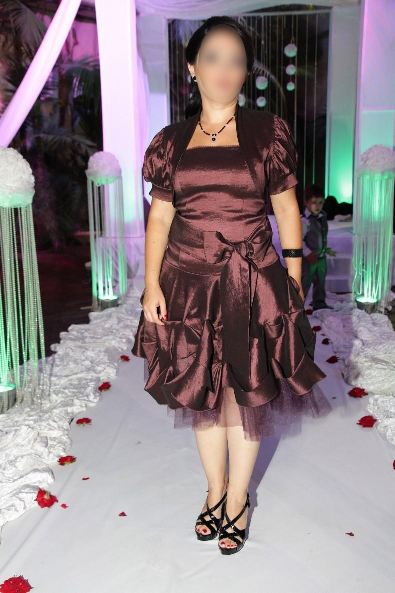 שמלת ערב + בולרו