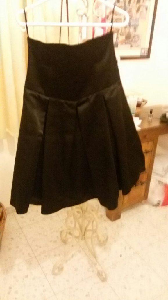 חצאית שחורה מאוד מיוחדת