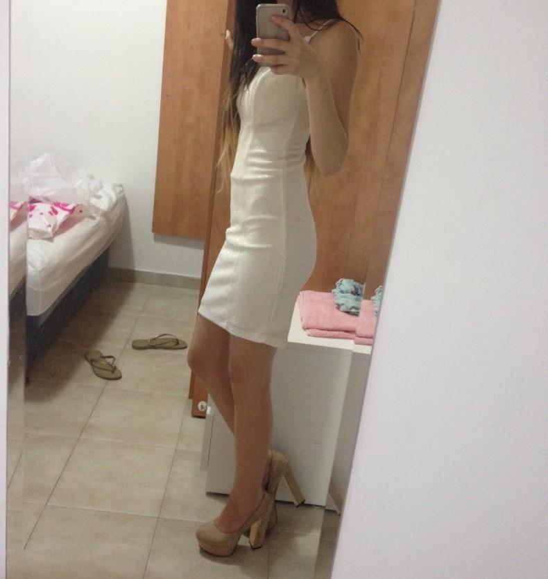 שמלת מיני מנצנצת