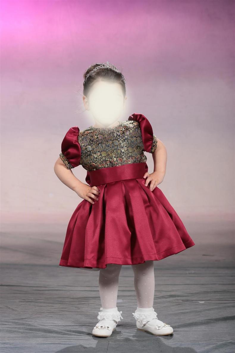 שמלה מהממת לילדה בת 3