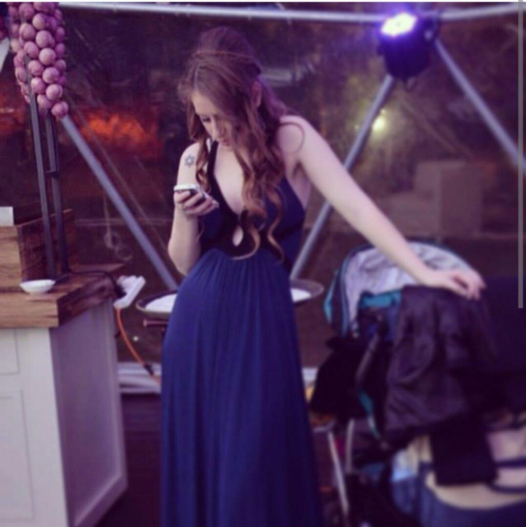 תמונות נוספות של שמלת ערב של אלון ליבנה