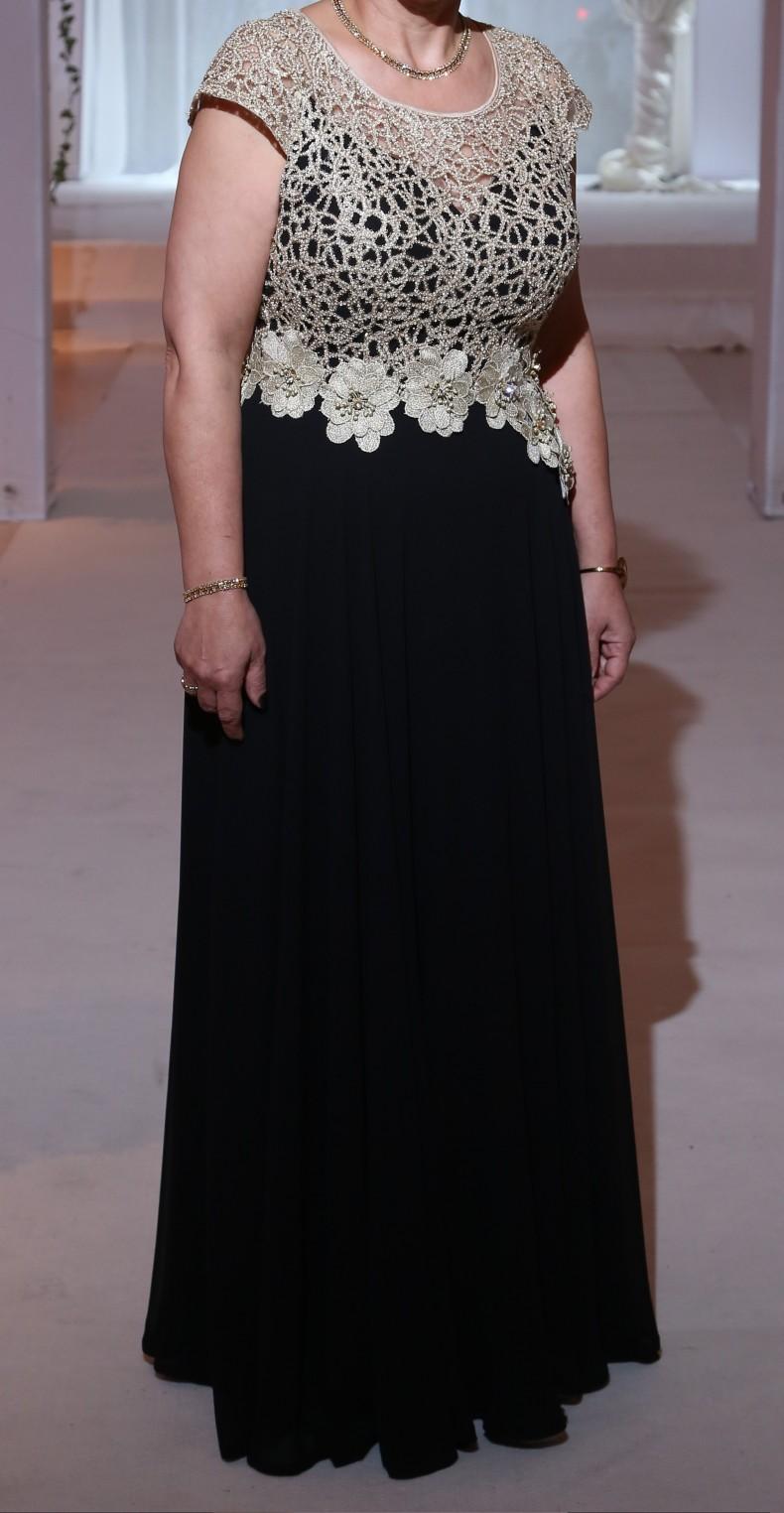 שמלת ערב אלגנטית לנשים שפויות – שמלת אמא של חתן/כלה