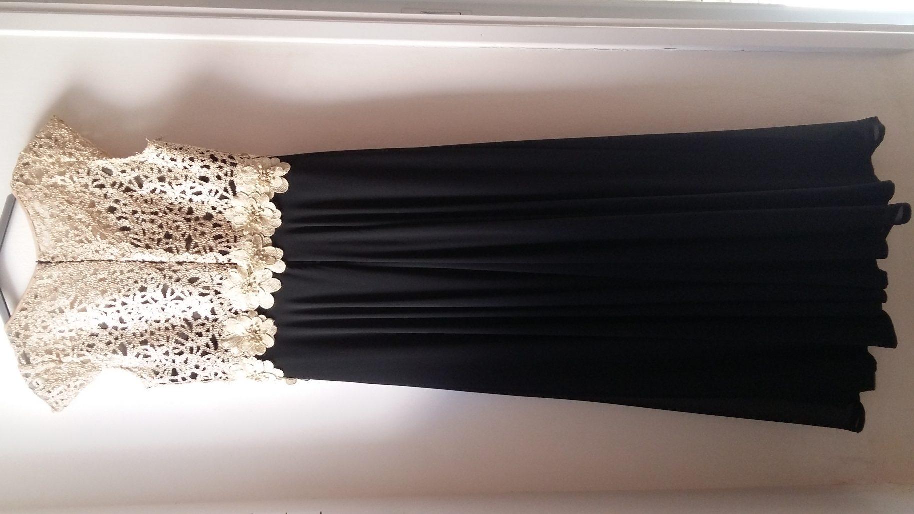 תמונות נוספות של שמלת ערב אלגנטית לנשים שפויות – שמלת אמא של חתן/כלה