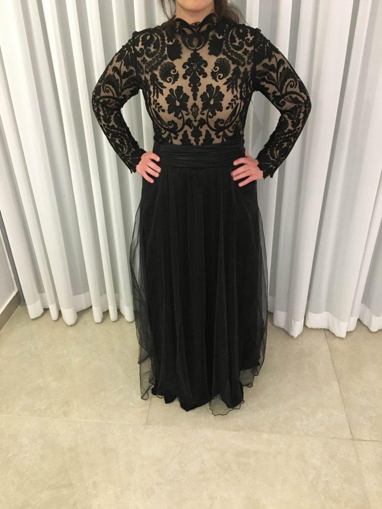 תמונות נוספות של שמלת ערב מושלמת של המעצבת LIAN FISHBEIN