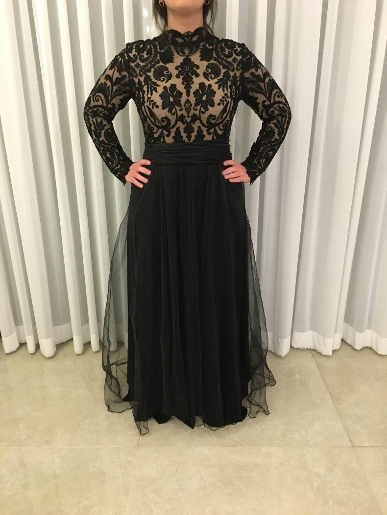שמלת ערב מושלמת של המעצבת LIAN FISHBEIN