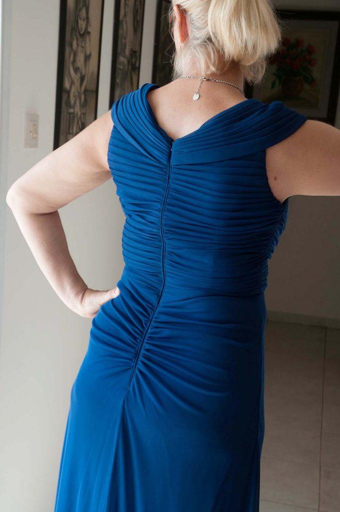 תמונות נוספות של שמלת ערב מיוחדת ומחמיאה למכירה