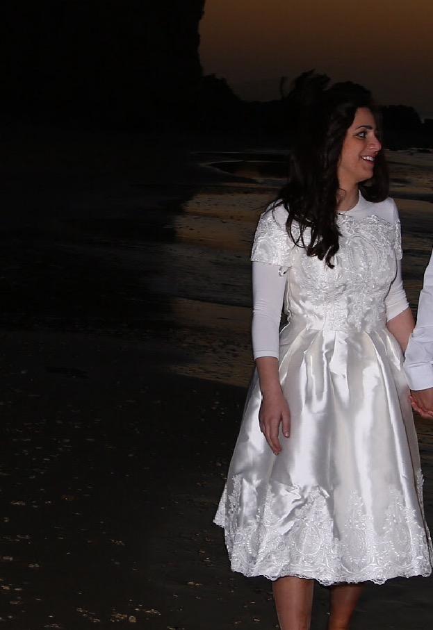 תמונות נוספות של שמלת ערב קצרה לאירוסין