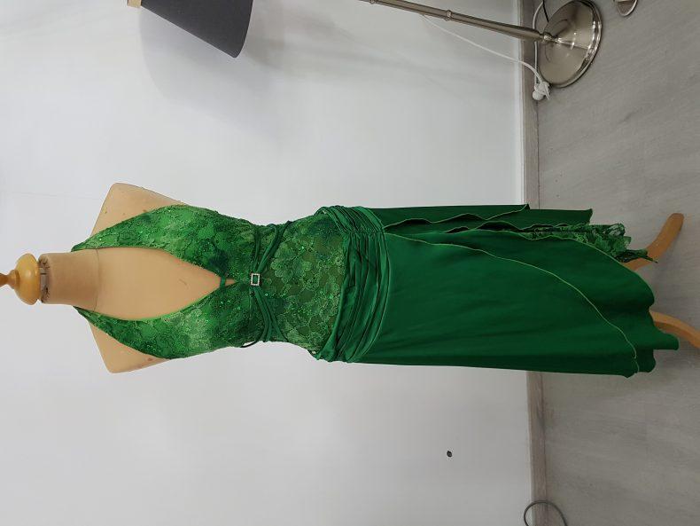שמלת ערב סקסית אש