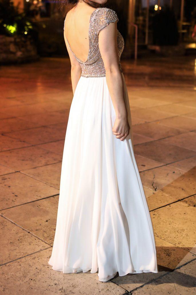 תמונות נוספות של שמלת כלה קלה עדינה ומיוחדת