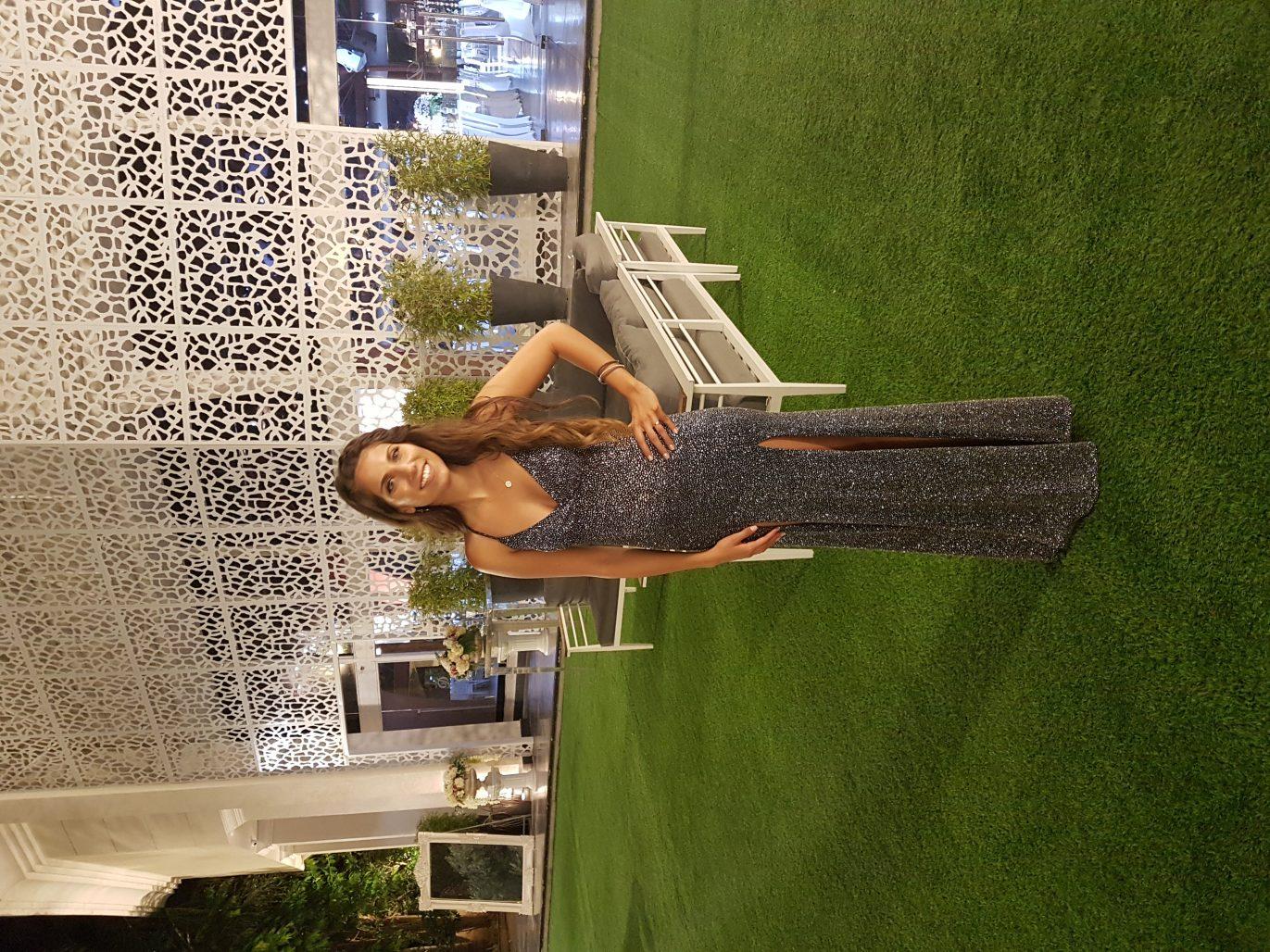 תמונות נוספות של שמלת מקסי נצנצים