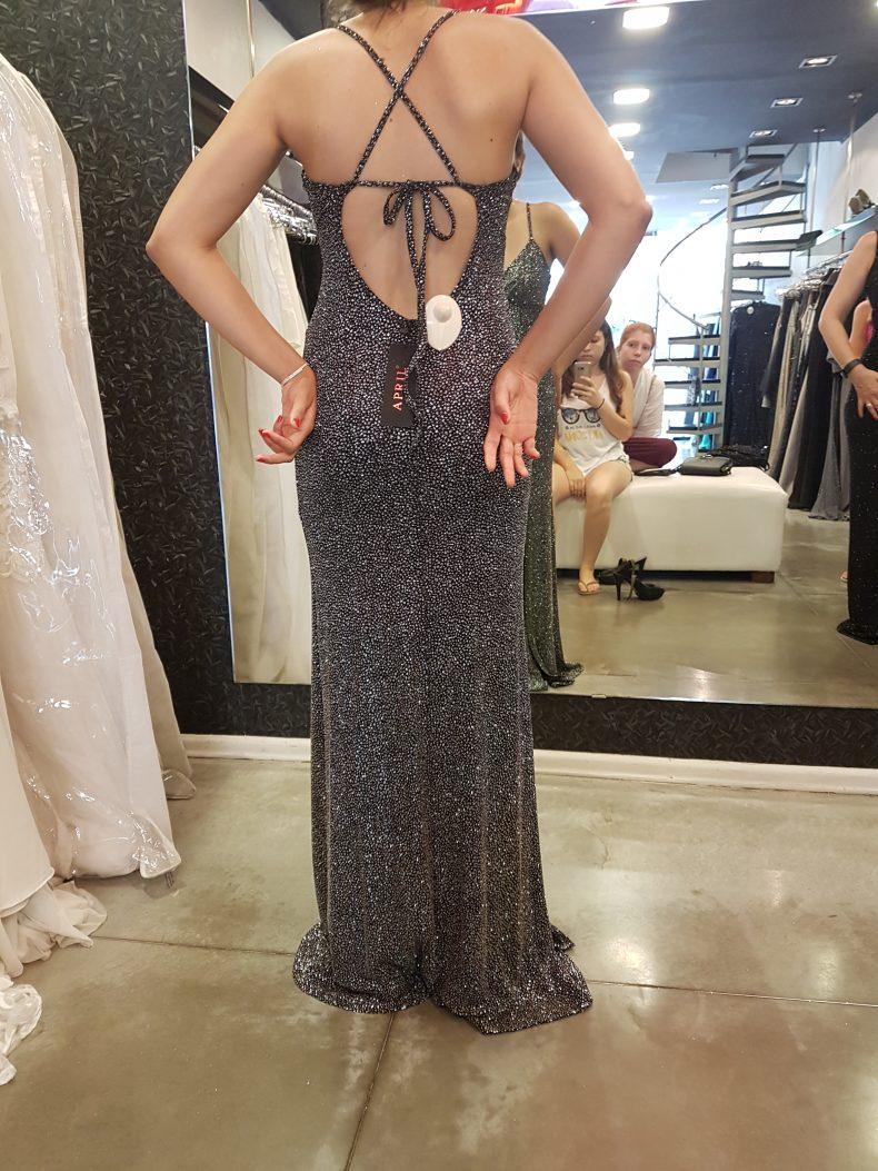 שמלת מקסי נצנצים