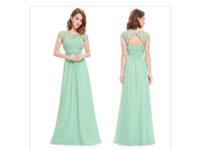 שמלת ערב חגיגית וקלאסית
