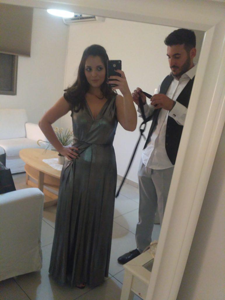 תמונות נוספות של שמלת ערב כסופה יוקרתית ומחמיאה