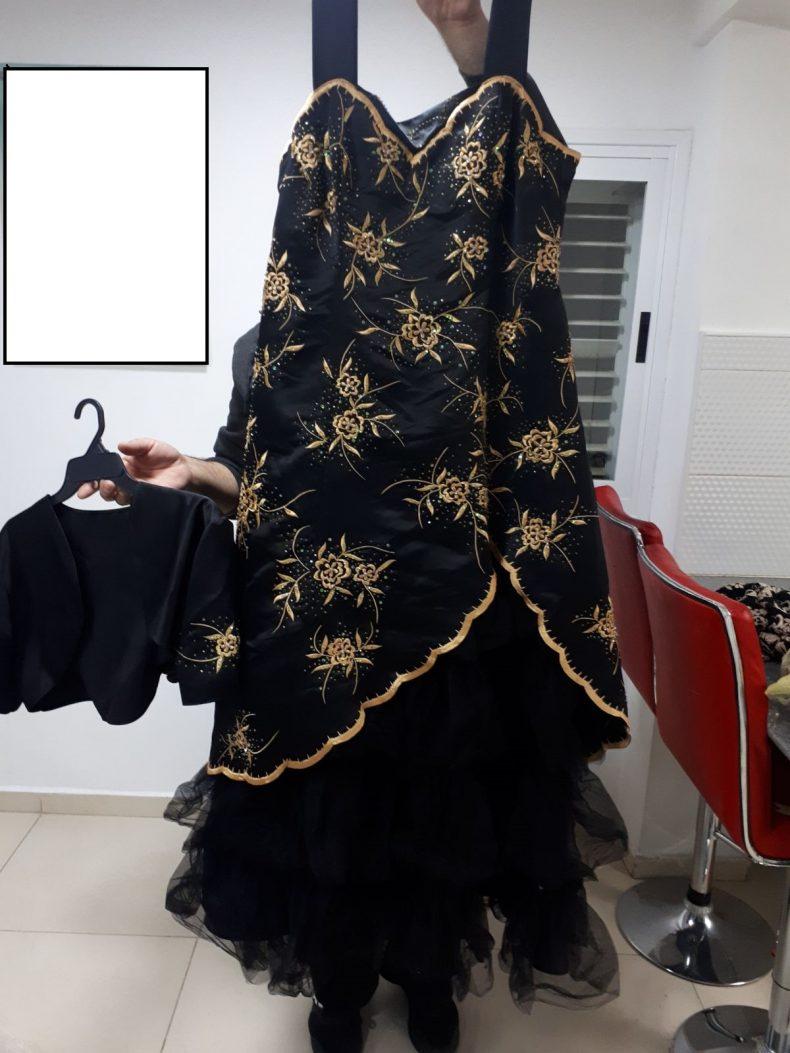 שמלת ערב מאלפת !! נלבשה פעם אחת