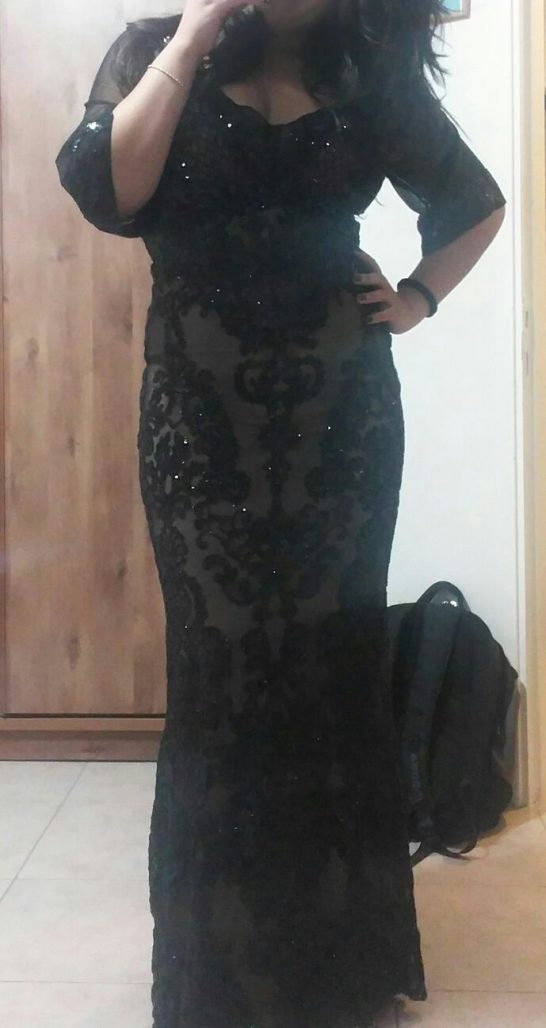 שמלת ערב צנועה כחדשה!