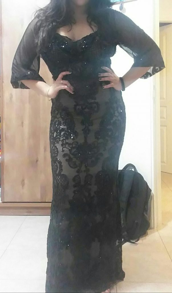 תמונות נוספות של שמלת ערב צנועה כחדשה!