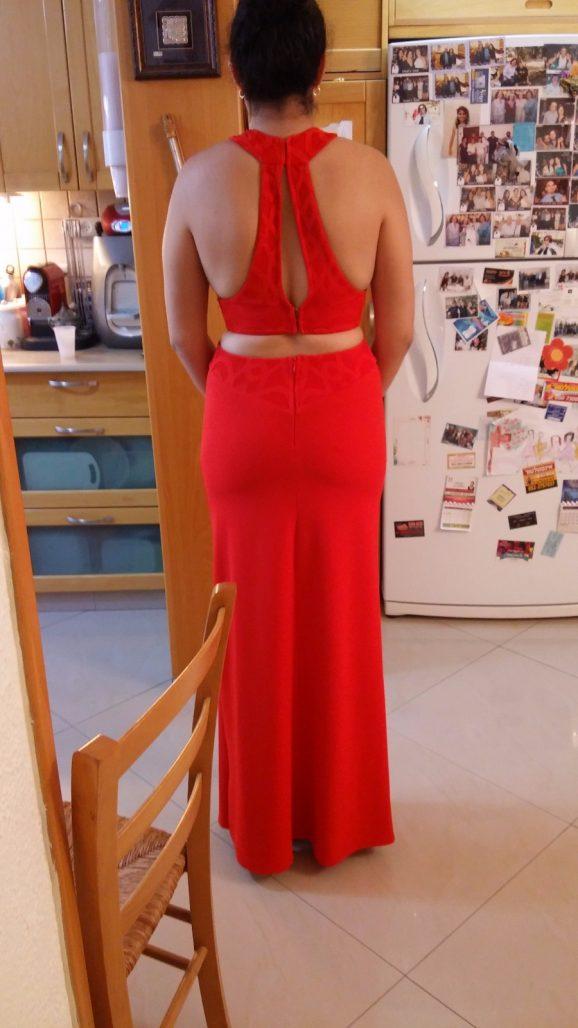 תמונות נוספות של שמלת ערב מקסי ארוכה