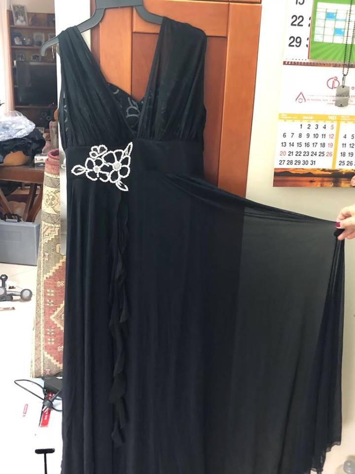תמונות נוספות של שמלת מעצב שנרכשה ב TAGORI תל אביב . נילבשה פעם אחת !!