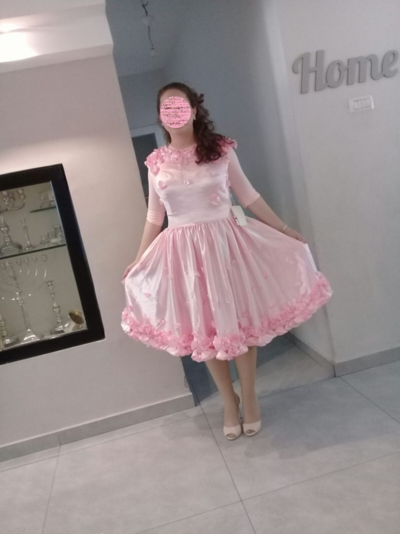 שמלת ערב בובתית חדשה!