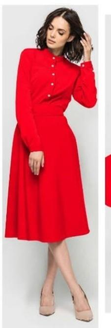 תמונות נוספות של שמלה אדומה