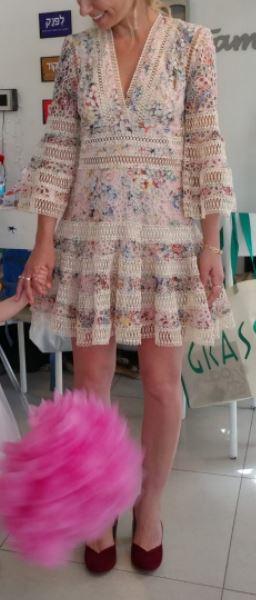 """תמונות נוספות של שמלת ערב מהממת של המעצב האוסטרלי """"צימרמן"""""""