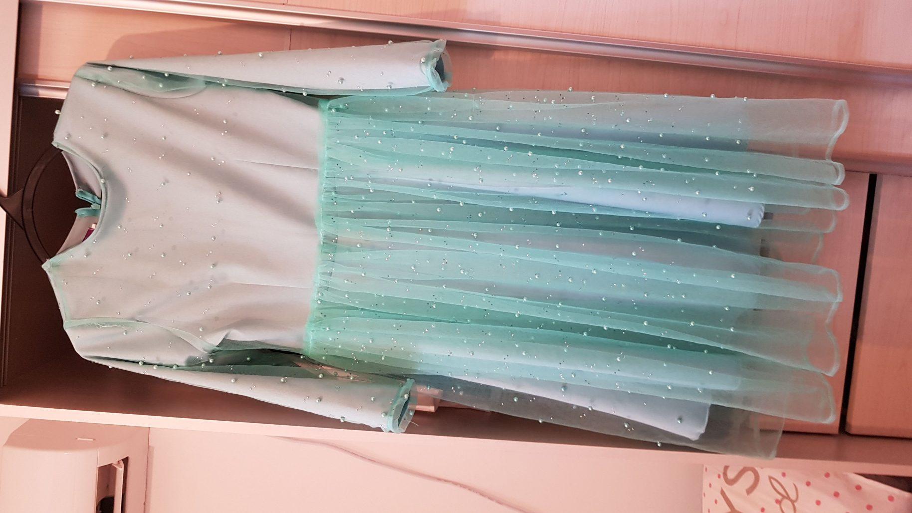 תמונות נוספות של שמלת ערב טורקיז