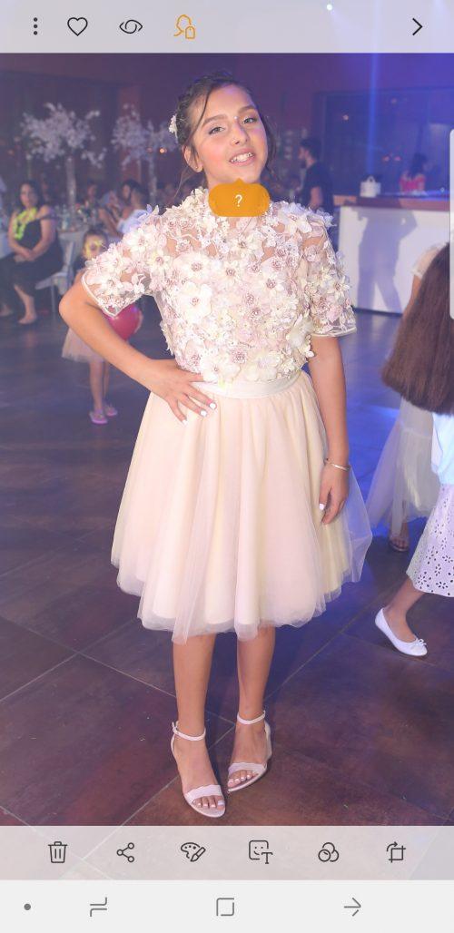 תמונות נוספות של שמלת ערב ושמלה לכלת בת מצווה