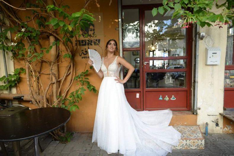 שמלת כלה וחצאית הפתעה