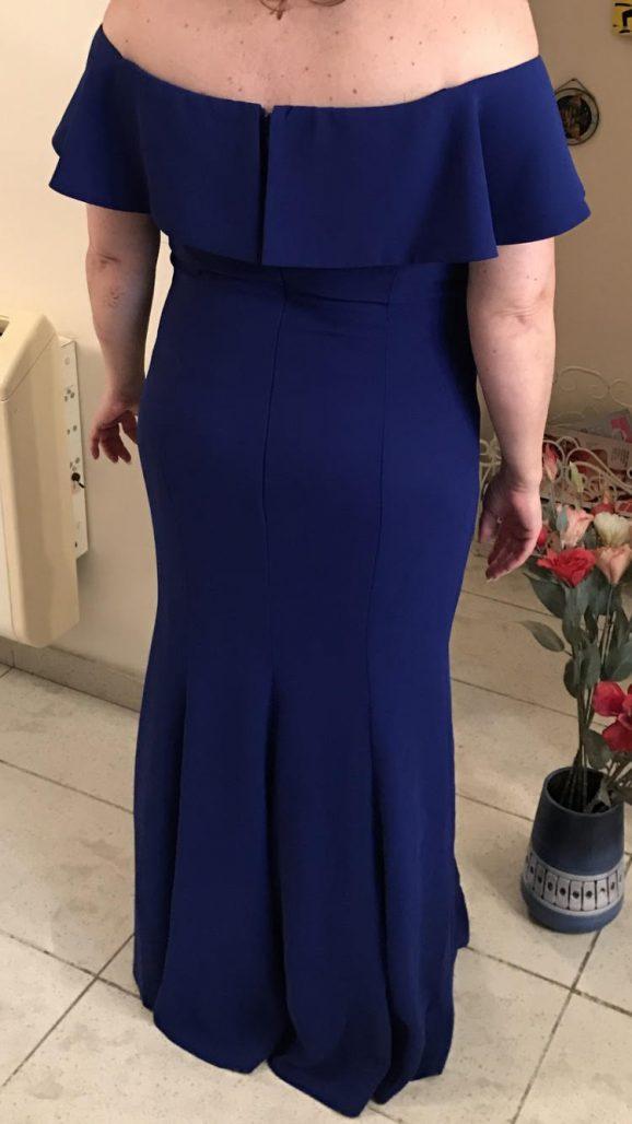 תמונות נוספות של שמלת ערב ייבוא מצרפת