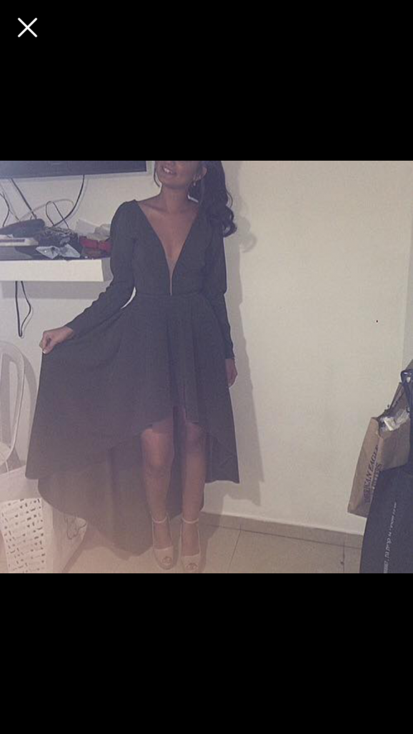 תמונות נוספות של שמלת ערב ירוק זית בתפירה אישית