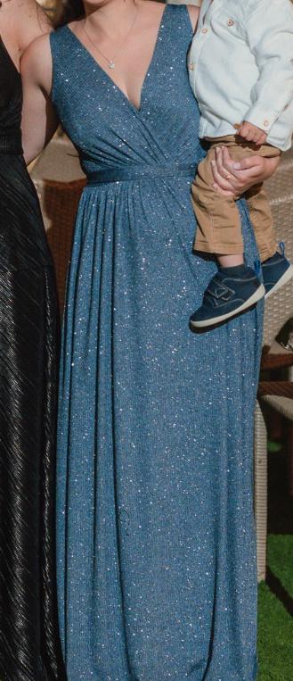 שמלת ערב לאחות של הכלה או מלווה או נשף