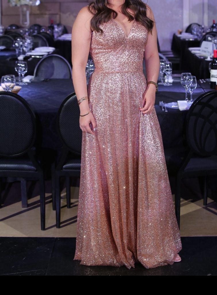 תמונות נוספות של שמלה ערב בתפירה אישית