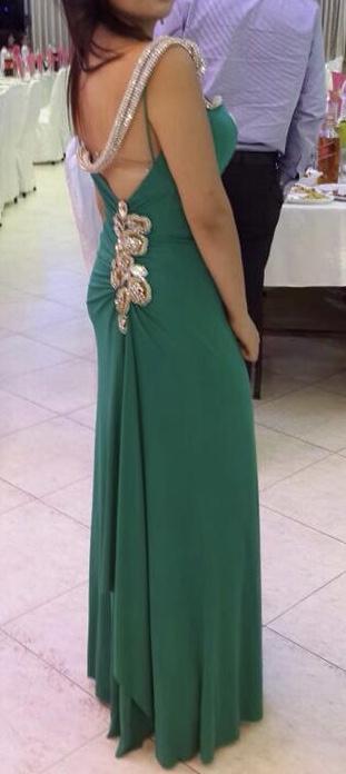שמלת ערב ירוקס מהממת