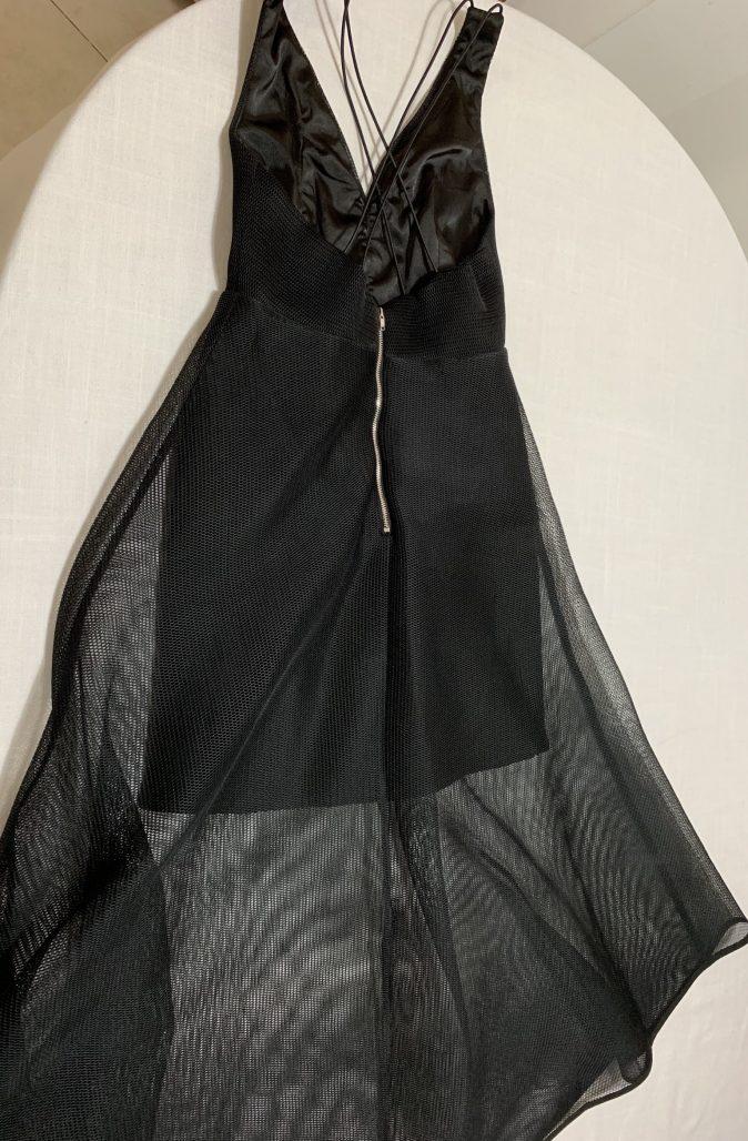 תמונות נוספות של שמלת ערב שחורה