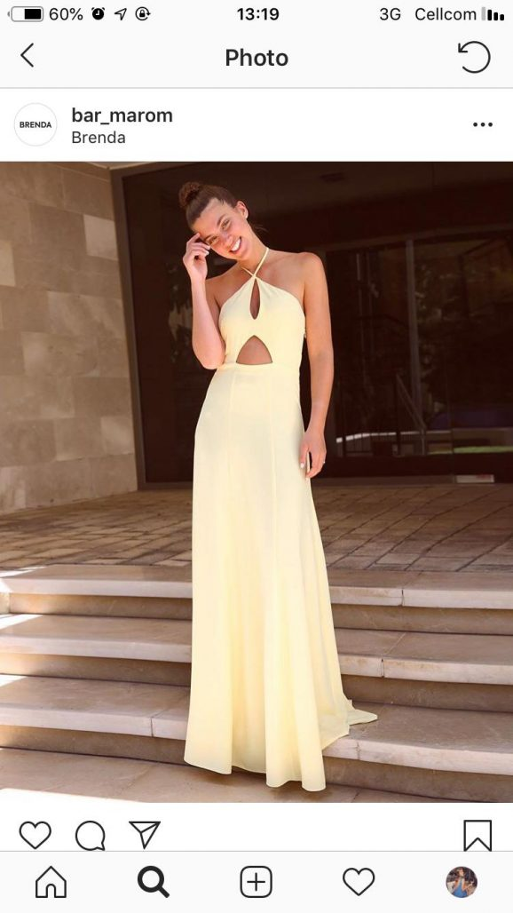 תמונות נוספות של שמלת ערב שחור ה (Brenda)