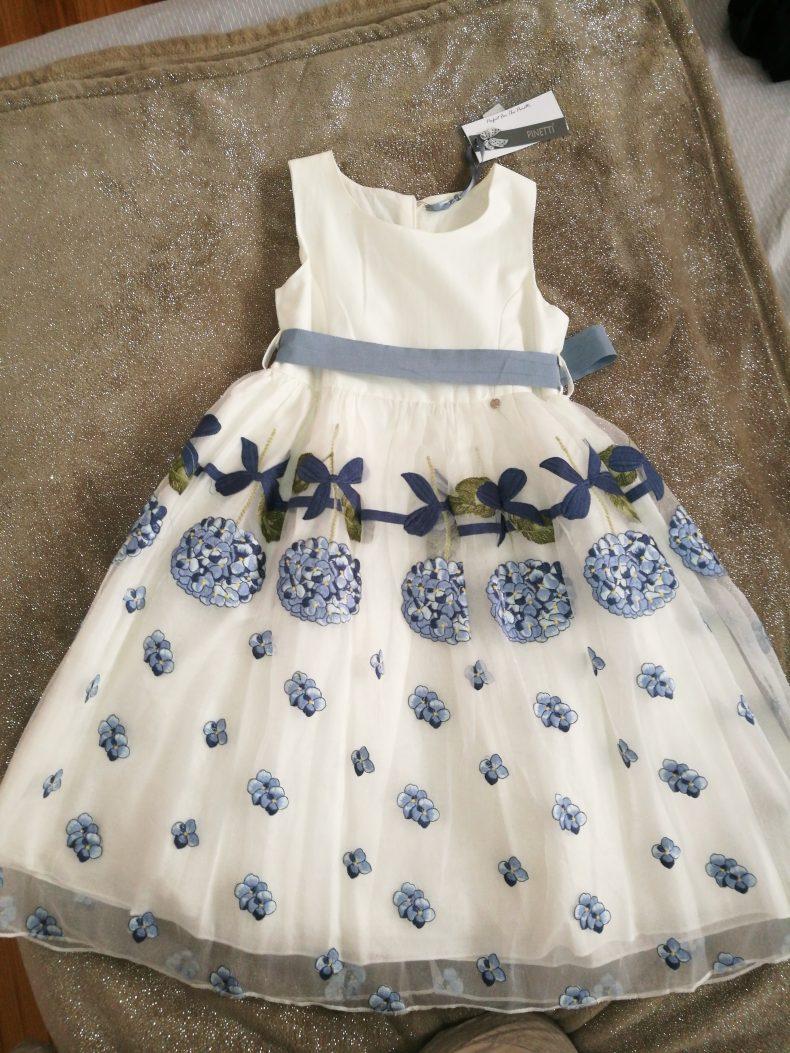 שמלת ילדות חגיגית
