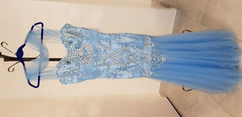 שמלת ערב מאוד אלגנטית ומיוחדת