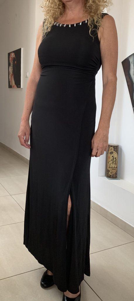תמונות נוספות של שמלה שחורה יבוא מפריז