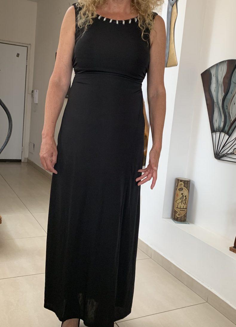שמלה שחורה יבוא מפריז