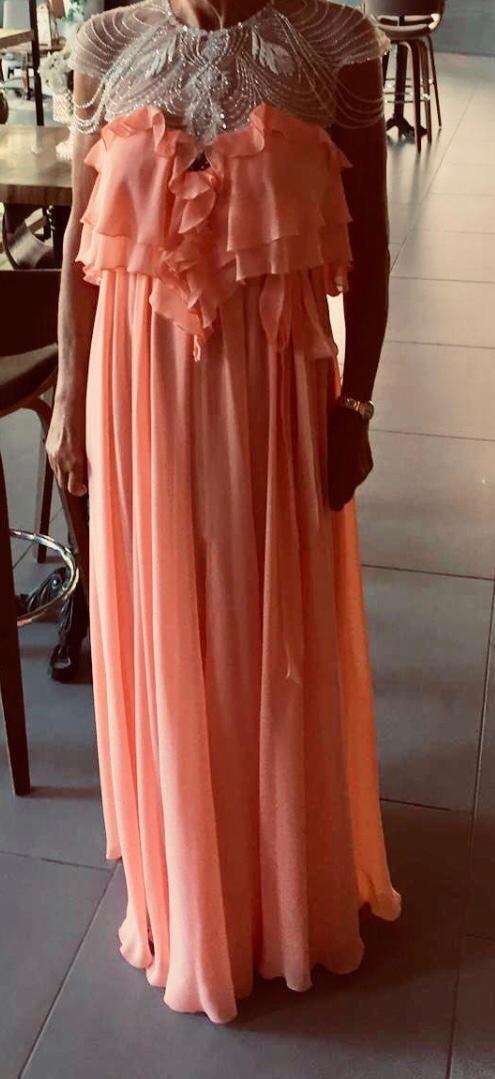 שמלת ערב של מעצב העל אלון ליבנה