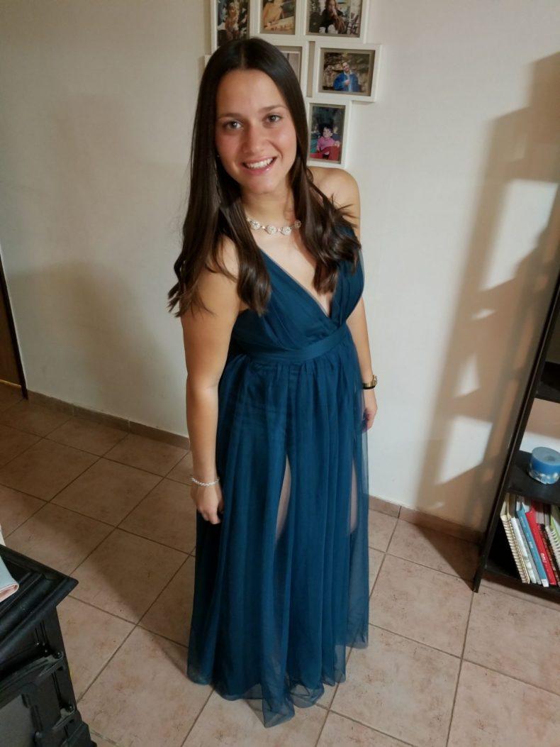 שמלה כחולה