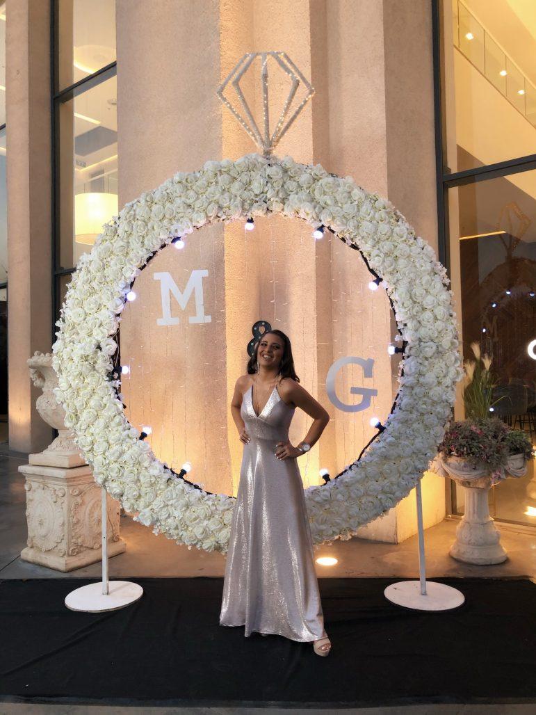 תמונות נוספות של שמלת ערב מקסי צבע ניוד (מעצבות)