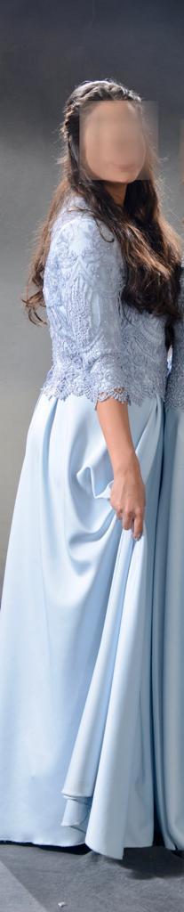 תמונות נוספות של שמלה תכלת