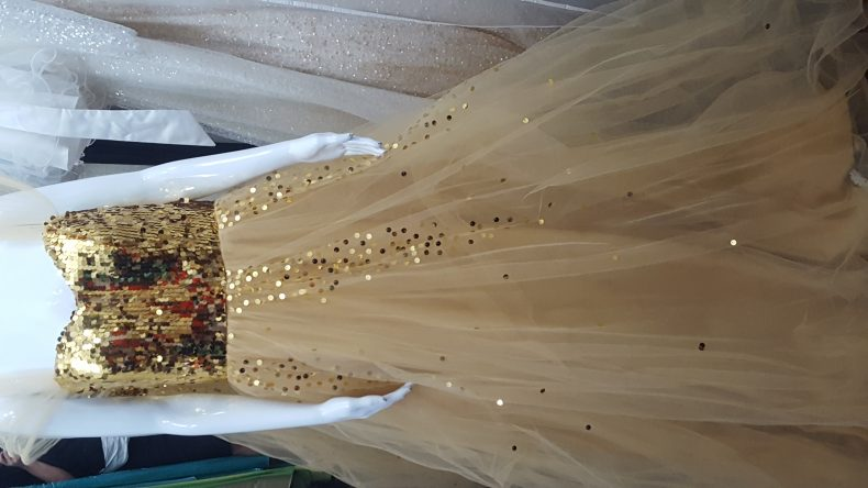 שמלת ערב מצרפת