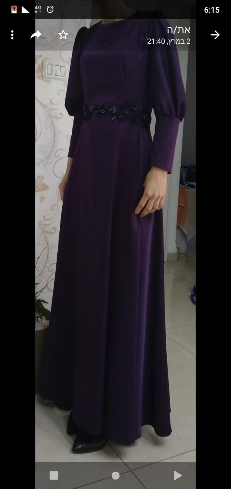 שמלת ערב מהממת למכירה