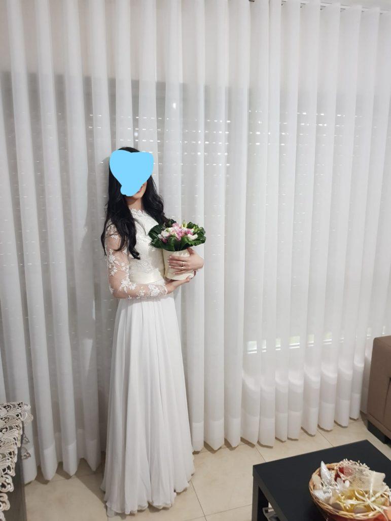 שמלה שיכולה לשמש לחתונה/בת מצווה/שושבינה/כל אירוע אחר